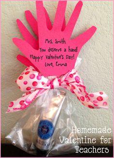 Homemade Valentine for Teachers