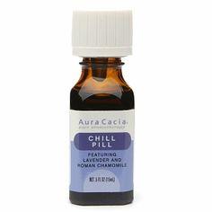 Aura Cacia Pure Aromatherapy Essential Oil, Chill Pill #crueltyfree