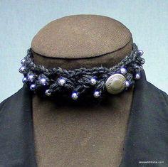 Beautiful #crochet jewelry pattern free from @Jessie_AtHome
