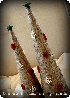 xmas trees, tree decorations, crochet ornaments, decoration crafts, christmas decorations, christma decor, holiday crafts, diy christmas tree, christmas trees