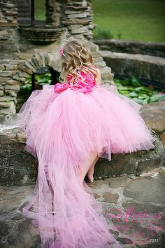 Beautiful Whimsical Tutu gown with detachable by KalliAlbaBridal, $250.00