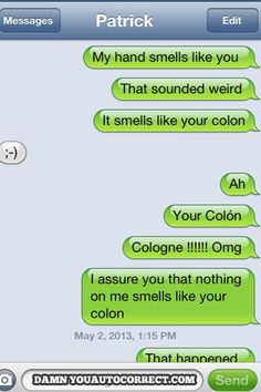 Smells like… | The 25 Funniest AutoCorrects Of 2013