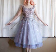Lavender stardust dress by LeMewVintage on Etsy, $120.00