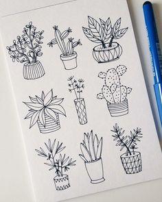 Маленькие рисунки для срисовки наклеек