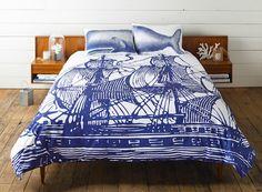 Thomas Paul Bedding.  #Designer #HomeDecor #Fabric #Inspiration