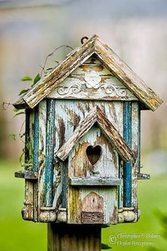 Shabby and rustic . .