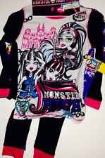 MONSTER HIGH GIRLS PAJAMAS SET NEW with 2 Pairs  with tags SIZE 10 New Style