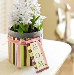 holiday, mothers day ideas, planter, gift idea