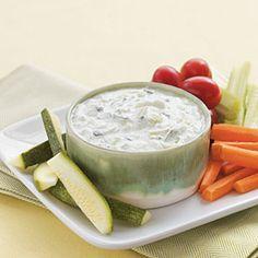 Vegetarian Appetizer Recipes | Tzatziki | CookingLight.com