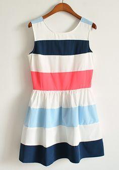 preppy dress, summer dresses, color combos, blue, fashion vintage