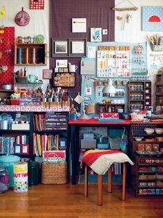 studio, idea, living rooms, dream, book, craftroom, crafts, craft room design, craft rooms