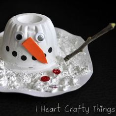 Melted Snowman Craft