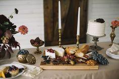 Cheese + desert table