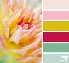 flora hues   design seeds #color