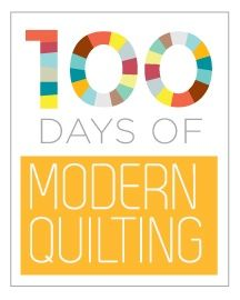 100 Days of Modern Quilting - Each week will feature 7 different modern quilts that represent the topic. We�ll also include tutorials from around the web on each topic, and a brand new tutorial each and every week! [Free].