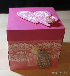 Stamp & Scrap with Frenchie: Explossion Box for Valentine