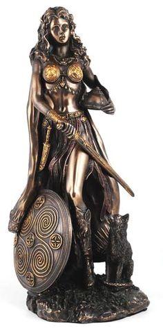 Norse Goddess Freyja Statue