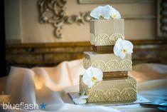 square wedding cake, ivory wedding cake, lace wedding cake, buttercream wedding cake, elegant wedding cake, classic wedding cake