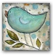art work, idea, craft, stuff, birdi, inspir, paint, bird collag, birds