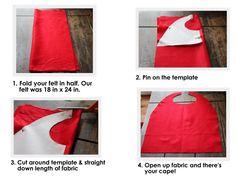 DIY cape template