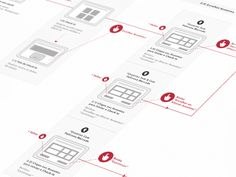 Dribbble - [UX] Interactive Screen Flow by Andrea Pacheco