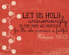 He is my Hope!