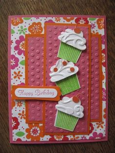 Birthday Cupcake by ulripup - Cards and Paper Crafts at Splitcoaststampers