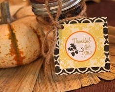 Amanda's Parties TO GO: FREEBIE Fall gift tag
