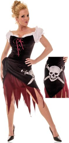 #Pirate Wench Adult #Costume