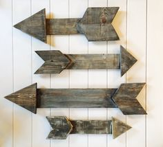 Wooden Arrow Wall Art  2124 inches in by DesignsByLoulaBelle, $25.00