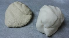 Salt Dough VS. Cornstarch Clay