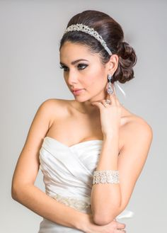 AMAZING photoshoot with Blue Luck Bridal accessories! Las Vegas wedding hair and makeup by Amelia C & Co Photography by Ella Gagiano www.http://www.ellagagiano.com/ Jewelry by www.blueluckbridal.com
