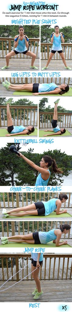 30-Minute Jump Rope Workout