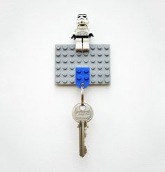 DIY Lego Key Holder and Stormtroppers