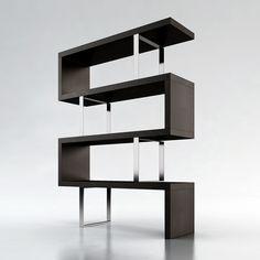modern bookshelf <3 <3 <3