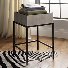 I love the Foxed Mirror Nightstand on westelm.com