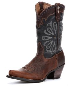 cowgirl boots, ariat women, daisi cowgirl, women daisi, blue daisi, style, daisi boot, daisies, cowboy boot