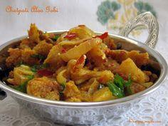 Chatpati Aloo Gobi Recipe