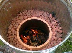 Homemade Tandoori oven