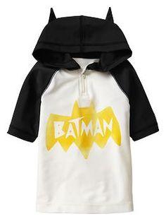 Junk Food™ Batman rashguard hoodie
