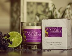 Celtic Candles Lavender & Lime Soya Candle (£7.75 from Etsy)