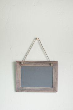 chalkboards, desk accessories, hang chalkboard, offic item, chalkboard signs, officedesk accessori, hanging chalkboard sign