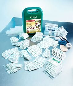 ' Curad® 175-Ct. Complete First Aid Kit' is going up for auction at  7pm Mon, Sep 9 with a starting bid of $12.