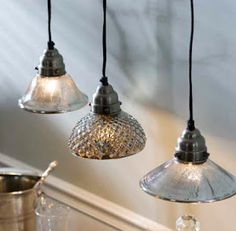Mercury Pendant Lights by Mothology