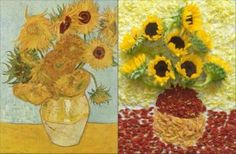 Iconic works of art recreated!