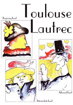 Toulouse-Lautrec Art Projects for Kids:  Your students will learn about Toulouse-Lautrec's unusual life.  His unique use of line is investigated and the students create watercolor masterpieces of their own emphasizing line and color as Lautrec did.