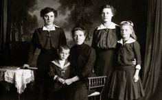 Familie aus Stettin ca 1900