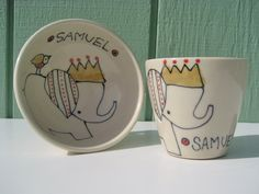 cups, crowns, baby gifts, babi ador, eleph, sweet gifts, babi gifti, person babi, bowls