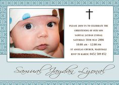 baptism invitations | Angelina Plum: Christening and Naming Day Invitations and Thank You ...