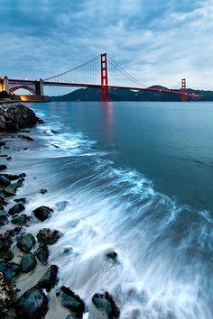Golden Gate Bridge from Crissy Fields